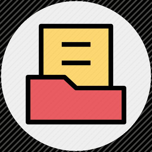 document, document folder, file, file folder, folder icon