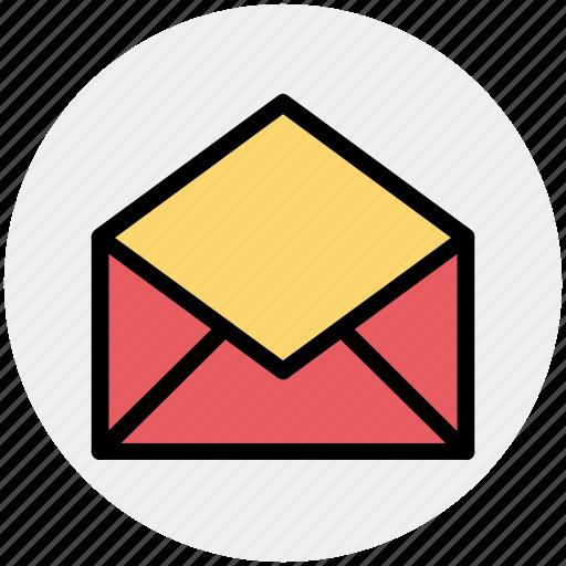Email, envelope, letter, open, open envelope, open letter icon - Download on Iconfinder