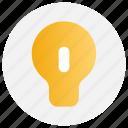 bulb, education, idea, light
