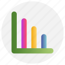 business, chart, education, graph icon