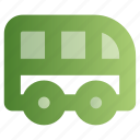 bus, education, school bus, transport icon