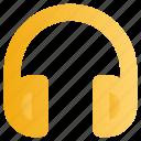 education, headphone, music, school, study icon