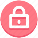 closed, education, lock, padlock, secure icon