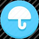 education, insurance, protection, umbrella, weather icon