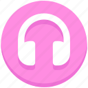 education, headphone, music, school, study icon
