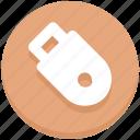 usb, memory, education, pendrive, flash, device icon