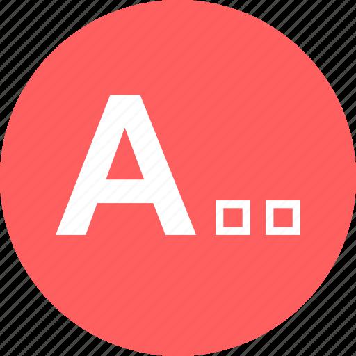 a, edit, education, homework, learn, learning icon