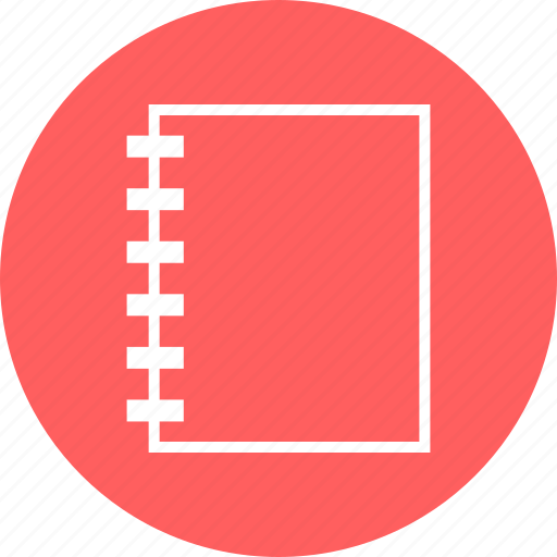 book, education, learn, learning, note, write icon