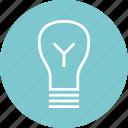 brilliant, education, idea, learn, learning, lightbulb, smart icon