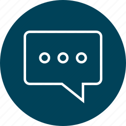bubble, chat, conversation, education, learn, learning icon