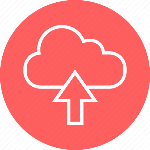 arrow, cloud, education, learn, learning, up icon