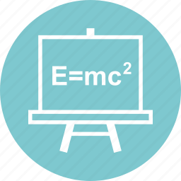 board, education, formula, learn, learning icon