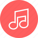 education, learn, learning, music, note icon