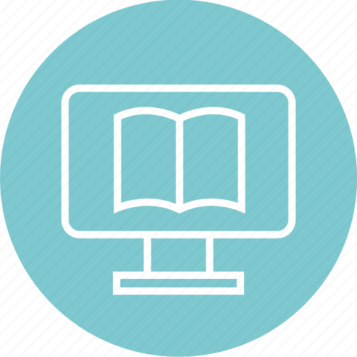 book, ebook, education, learn, learning, open icon