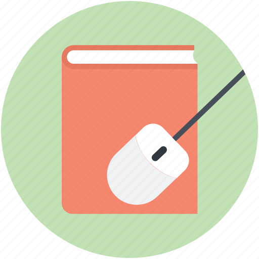 book, e learning, education, online book, online study icon