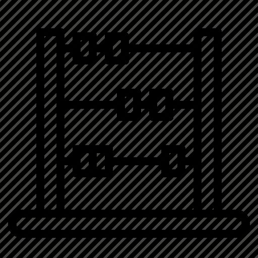 abacus, calculator, maths icon