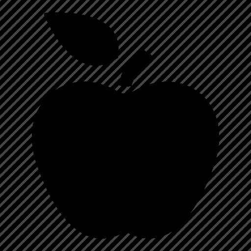 apple, education, food, fruit, vegetable icon