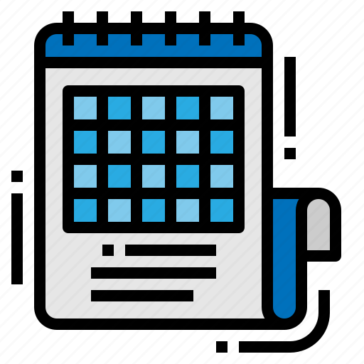 Calendar, class, schedule, timetable icon - Download on Iconfinder