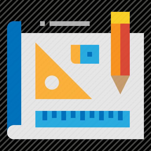 education, school, stationery, tool icon