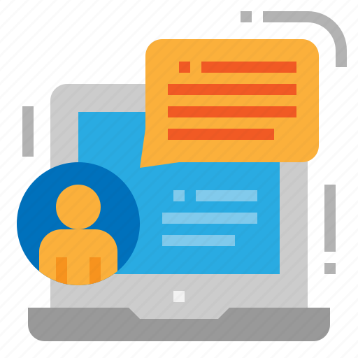 chat, consulting, message, online icon