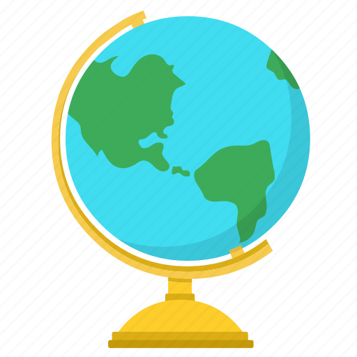 Earth, globe, geography, world, map icon