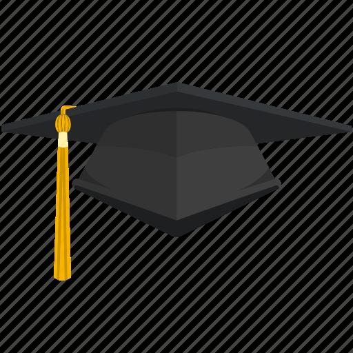 graduate, graduation, graduation hat, hat icon