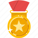 achievement, award, medal, trophy, winner icon