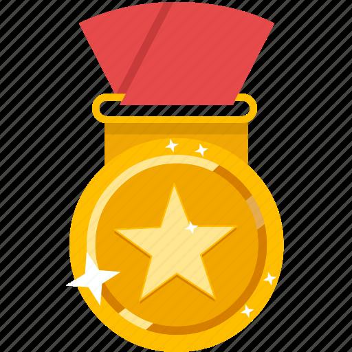 achievement, award, medal, trophy, winner icon