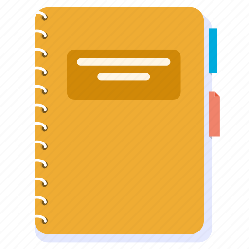 book, diary, note, note book, notes icon