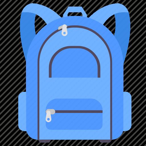 bag, school, school bag, study icon
