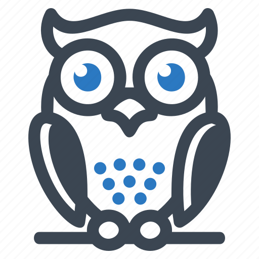 bird, education, owl, wisdom icon