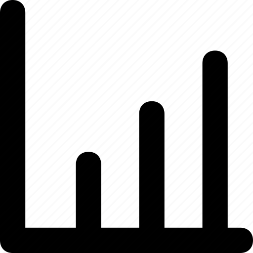 analytics, bar chart, bars, graph, statistics icon