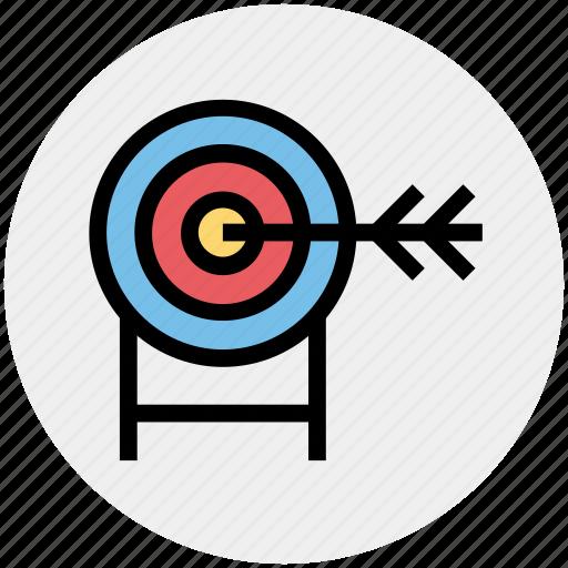 arrow, darts, focus, goal, strategy, target icon