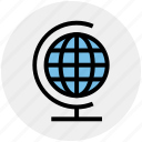 earth, form, global, globe, world, world globe icon