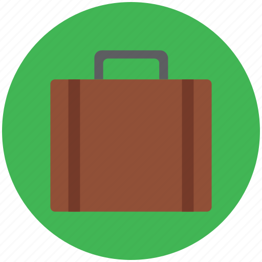 bag, briefcase, business bag, luggage, suitcase icon