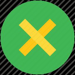 cancel, close, cross, delete, dismiss, modal, remove icon