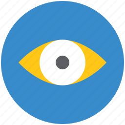 explore, eye, finding, human eye, view, visibility, visible, watch icon