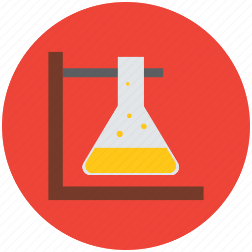 conical, erlenmeyer, flask, lab, lab experiment, laboratory, science icon