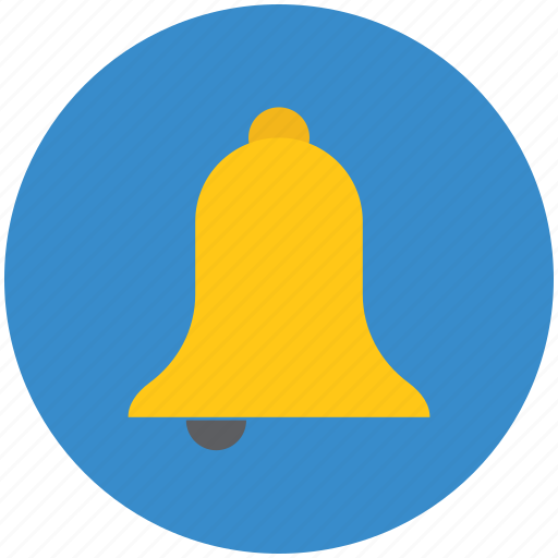 Alert, bell, ding dong, hand bell, ring, school bell, temple bell icon - Download on Iconfinder