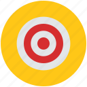 aim, bullseye, business aim, dart, goal, investment, target icon