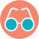 eyeglasses, glasses, shades, specs, spectacles icon