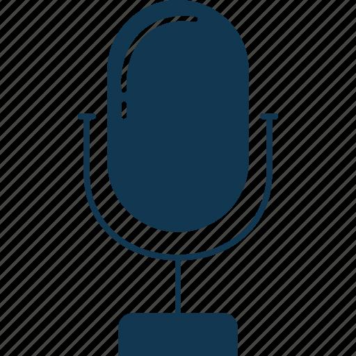 audio, mic, microphone, music, radio mic, sound icon