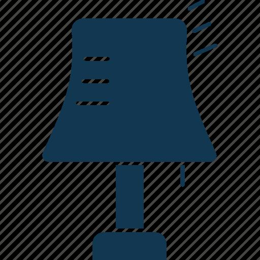 desk lamp, desk light, lamp, lamp light, light, table lamp icon