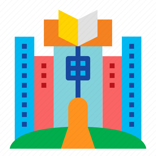 book, education, knowledge, library icon