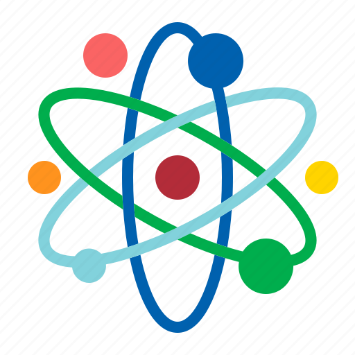 Atom, chemistry, molecular, physics icon - Download on Iconfinder