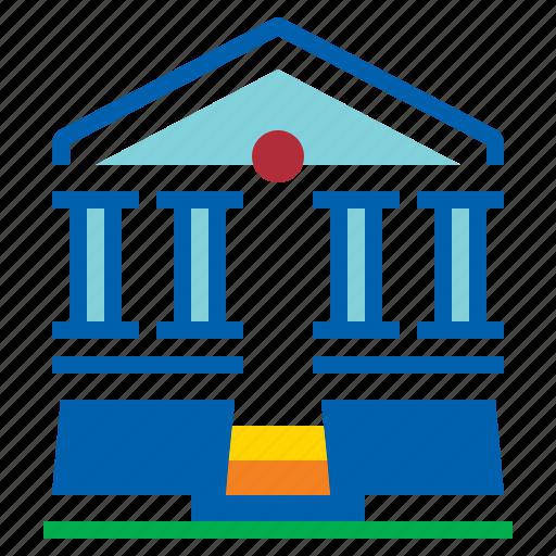 achitecture, building, historical, history icon