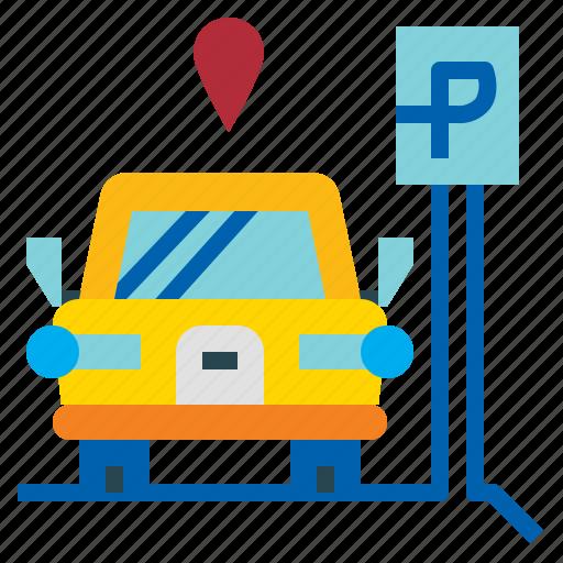 Car, park, parking, yard icon - Download on Iconfinder