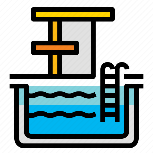 pool, sport, swim, swimming icon