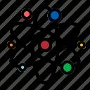 atom, chemistry, molecular, physics icon