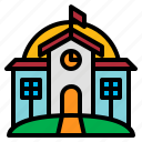 academy, college, institute, seminary icon